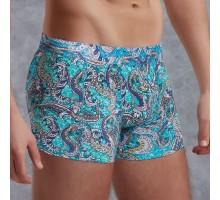 Боксеры с узорами из хлопково-модальной ткани